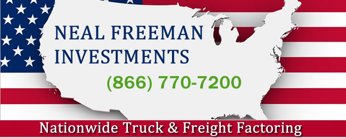 Truck Factoring | Neal Freeman Investments